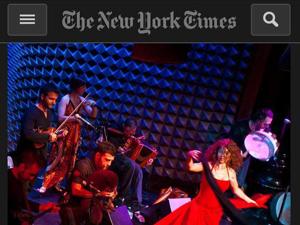 La Pizzica e il CGS sul New York Times!